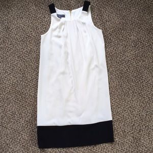 DONNA RICCO Ivory and Black dress / Size 4